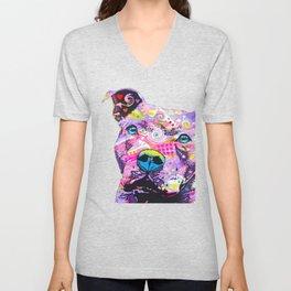 Colourful Pit Bulls, Pit Bulls Gift Unisex V-Neck