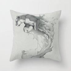 Jump Throw Pillow