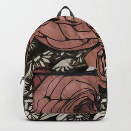 floral greetings Backpack
