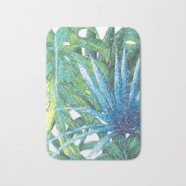 Philodendron & Flora Bath Mat