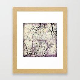 november blood Framed Art Print