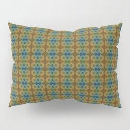 Capricorn Sun Sign Flower of Life Pattern Pillow Sham
