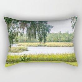 By the Bayou Rectangular Pillow
