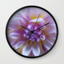 Dreaming of Dahlias Wall Clock