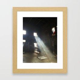 Throw a Light on the Asylum Framed Art Print