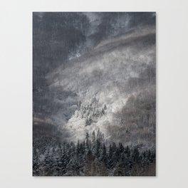 Winter Landscape Fine Art Canvas Print