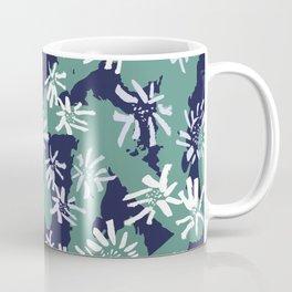 Abstract Inky Sunflowers Coffee Mug