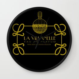 La Villanelle Wall Clock