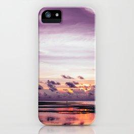Maldivian sunset 3 iPhone Case