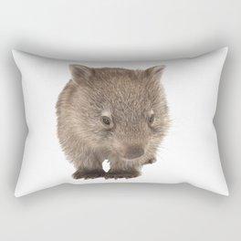 An adorable Australian wombat Rectangular Pillow