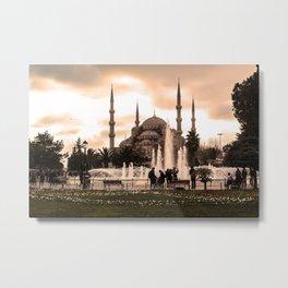Istanbul Turkey Metal Print