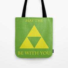 May the triforce be with you Tote Bag