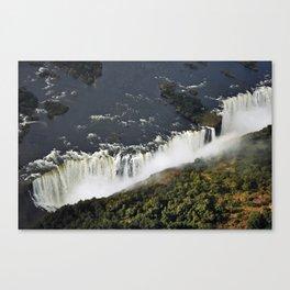 Victoria Falls. Canvas Print