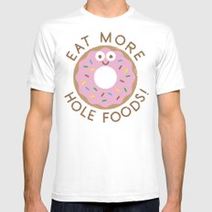 Do's and Donuts Mens Fitted Tee White LARGE