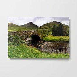 Old Scottish Bridge Metal Print