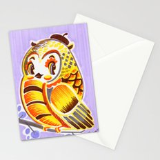 Pierrot Owl Stationery Cards