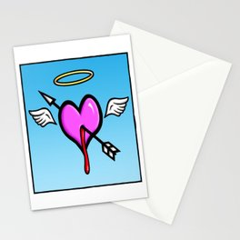 Cupids Heart Stationery Cards