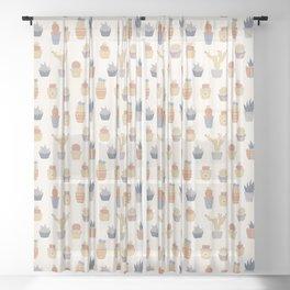 Prickly Pear (Vista) Sheer Curtain