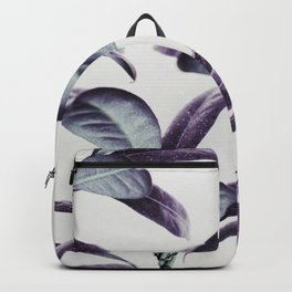Lavender plant pattern Backpack