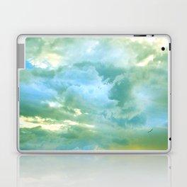 solo flight: aqua variations Laptop & iPad Skin