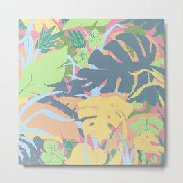 Jungle Flora 2 Metal Print