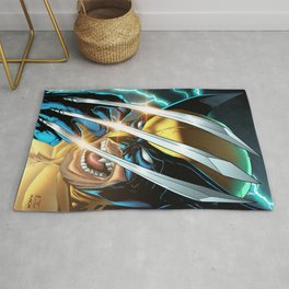 LOGAN X-MEN SUPERHERO COMICS Rug