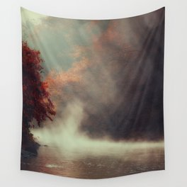Breathing River Wall Tapestry