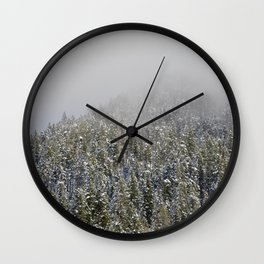 Quintessential Pacific Northwest Wall Clock