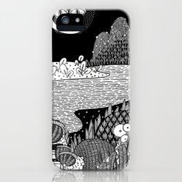Botanical Doodle 3/3 iPhone Case