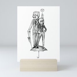 Cha Cha and Hazel Mini Art Print