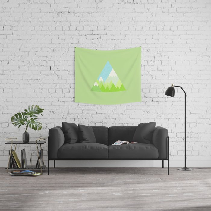 national park geometric pattern Wall Tapestry