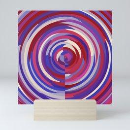 Berry Circles Abstract Mini Art Print