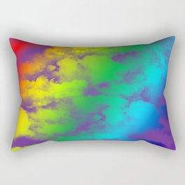 Rainbow Sky Rectangular Pillow
