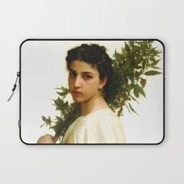 "William-Adolphe Bouguereau ""Laurel Branch"" Laptop Sleeve"