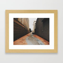 Brick Brooke  Framed Art Print