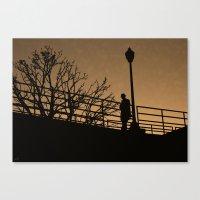 noir Canvas Prints featuring Noir by AdamSteve