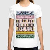 navajo T-shirts featuring NAVAJO MOTIF  by Vasare Nar