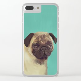 PUG! Clear iPhone Case