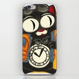 Time Cat iPhone Skin