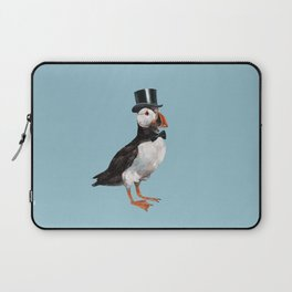 Gentleman Puffin with Bow Laptop Sleeve