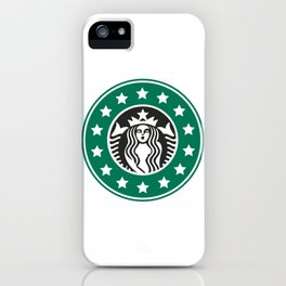 starbucks parody iPhone Case