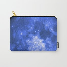Blue full moon Carry-All Pouch