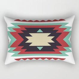 Geometric Abstract Tribal Indian Pattern Rectangular Pillow