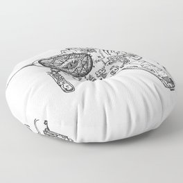 Raygun #3 Floor Pillow