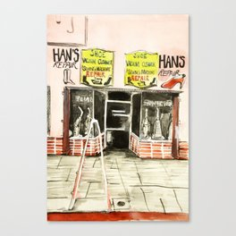 Berkeley and Alvarado Canvas Print