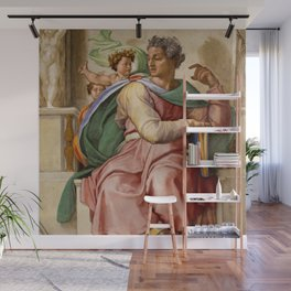 """Michelangelo """"Prophet Isaiah"""" Wall Mural"""