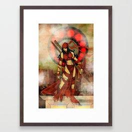 Elektra red..... Framed Art Print