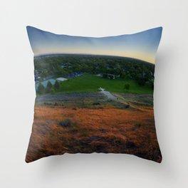 Boise Summer Solstice Throw Pillow