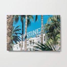 Le Martinez Hotel Metal Print