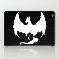 mother of dragons iPad Cases featuring Mother of Dragons by Lily's Factory
